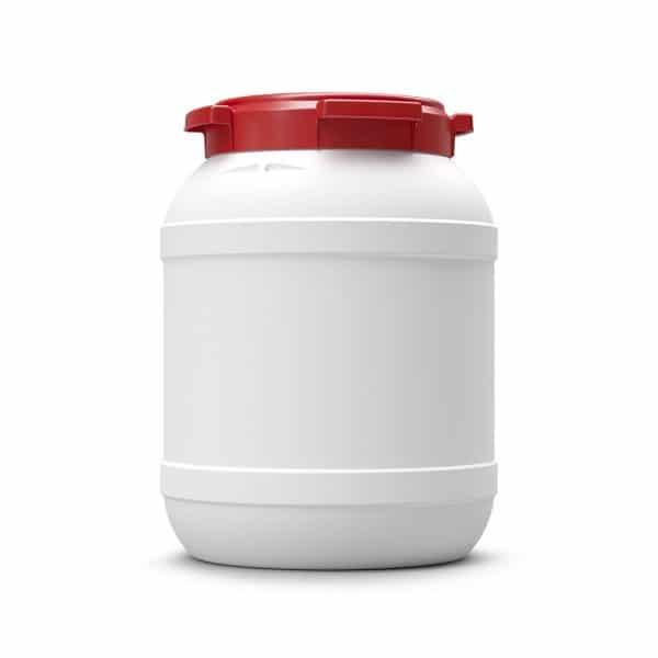 Das 26 Liter Weithalsfass schützt Ihren Inhalt vor Schmutz und Feuchtigkeit