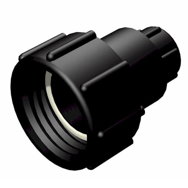 "IBC Adapter - S60x6 IG auf 0,75"" IG BSP (25mm) - drehbar"