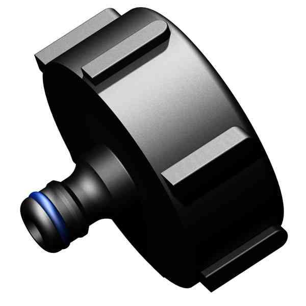 IBC Adapter S60x6 IG auf Gardena Wasserschlauch Kupplung (12,5mm)