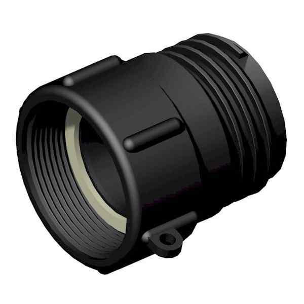 IBC Adapter - 2 Zoll BSP IG - S60x6 AG