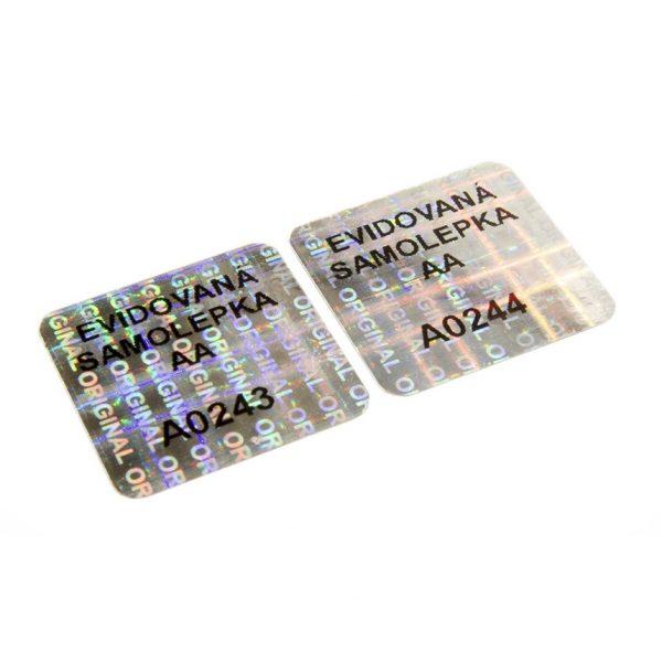 holographische Sicherheitsetiketten zur sicheren Kennzeichnung der Lieferungen