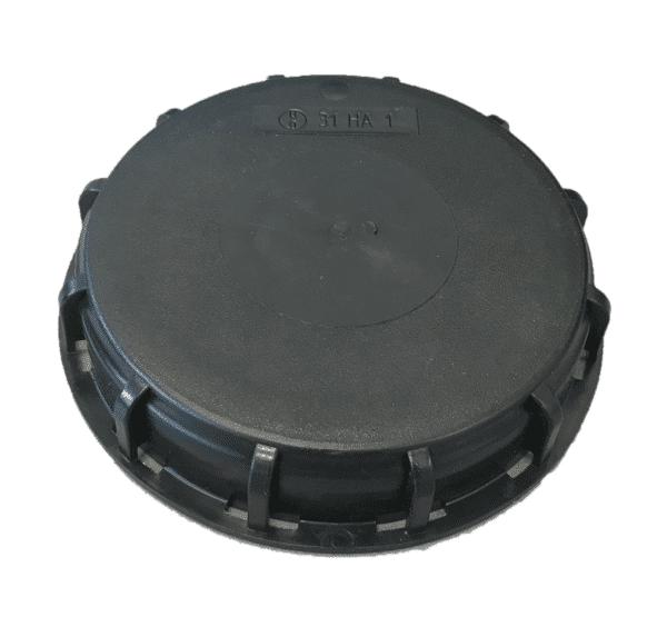 IBC Deckel für NW 150 in schwarz