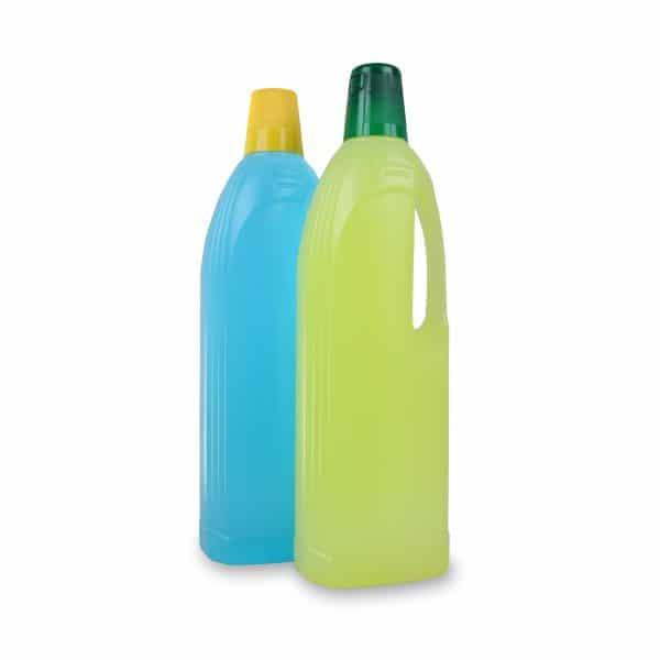PE-Griffflasche 1 Liter in verschiedenen Farben