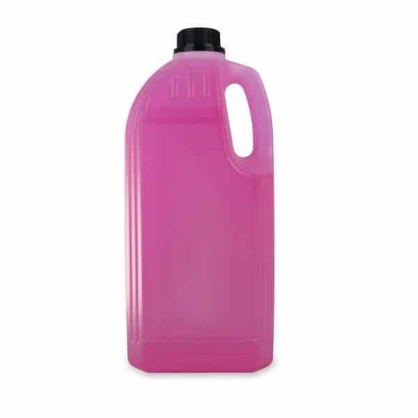 PE-Griffflasche mit einer Füllmenge von 2 Litern