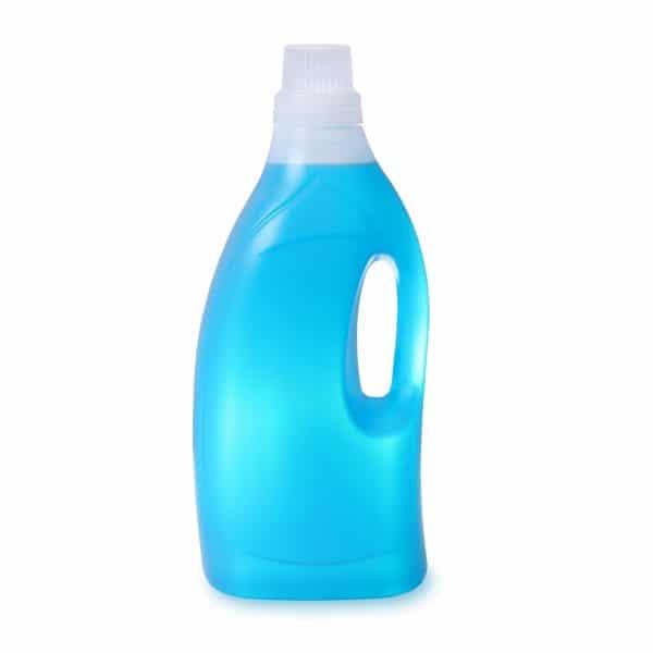 PE-Griffflasche 1,5 Liter in natur-transparent zur Abfüllung von Flüssigkeiten