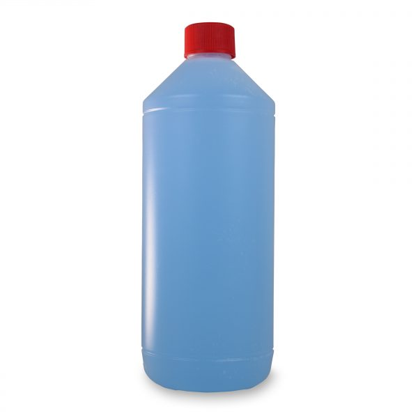 PE-Rundflasche 1 Liter in natur-transparent zur Abfüllung von Flüssigkeiten