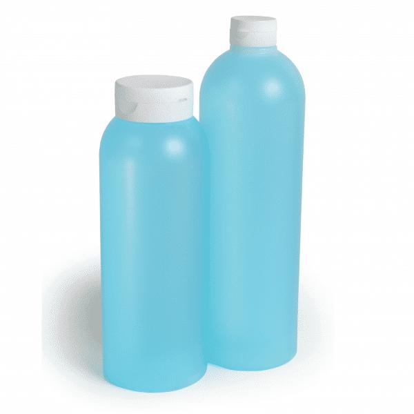 PE-Rundflasche im Fullvolumen 850 - 1000 ml