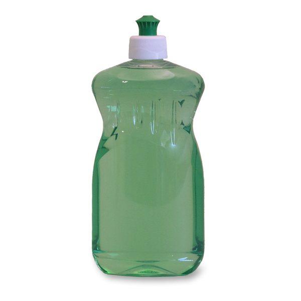 PET-Ovalflaschen 500 ml in klarer Farbe für beispielsweise Seife oder Spülmittel