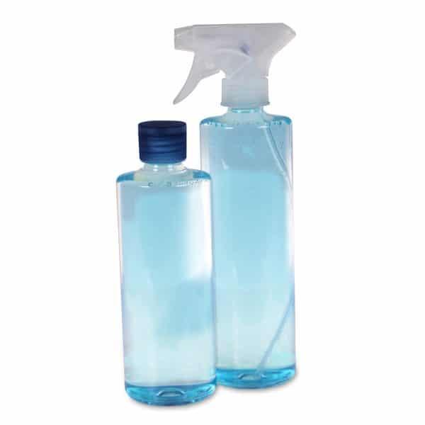 PET-Rundflasche 400 | 500 ml Sprühkopf oder Deckel