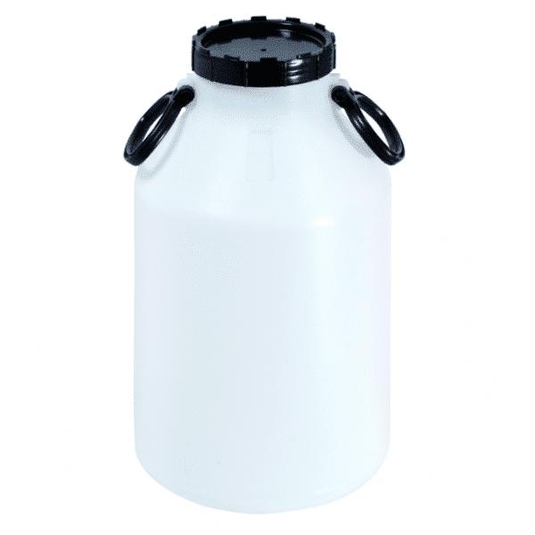 Schraubdeckelfass 30 Liter ist länglich und besitzt 2 Handgriffe