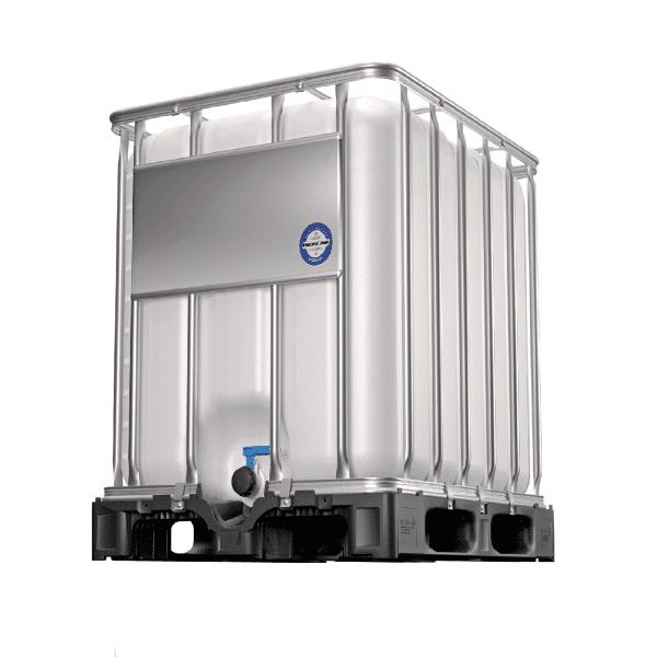 Der 600 Liter IBC Container bieten eine optimale Raumausnutzung