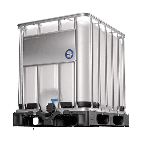 Der 1000 Liter IBC Container mit UN-Zulassung findet in vielen Branchen Anwendung und darf auch für den Transport von Gefahrengut genützt werden